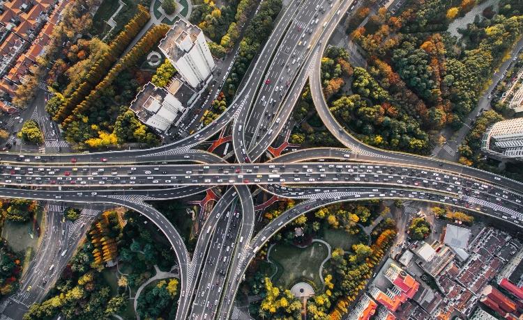 Evaporação do tráfego