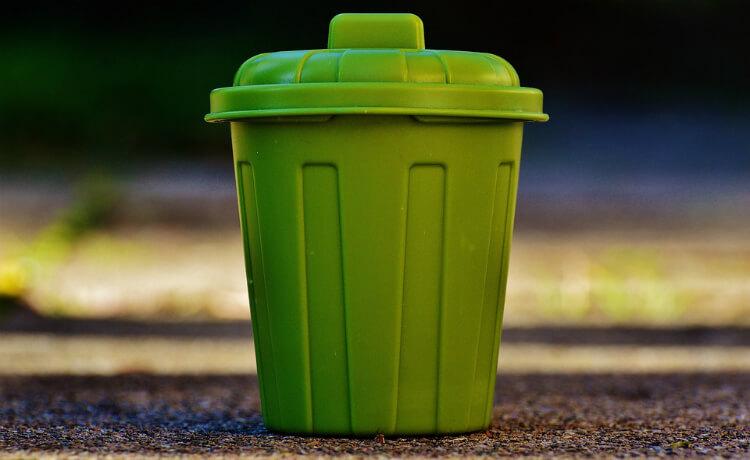 Coletor de resíduos específicos