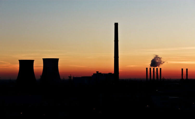 era industrial, poluição, geração de energia