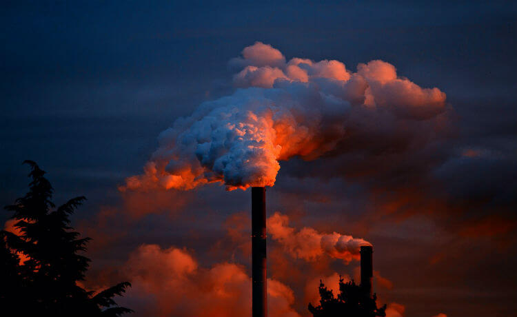 poluição, antropoceno, gases, industria