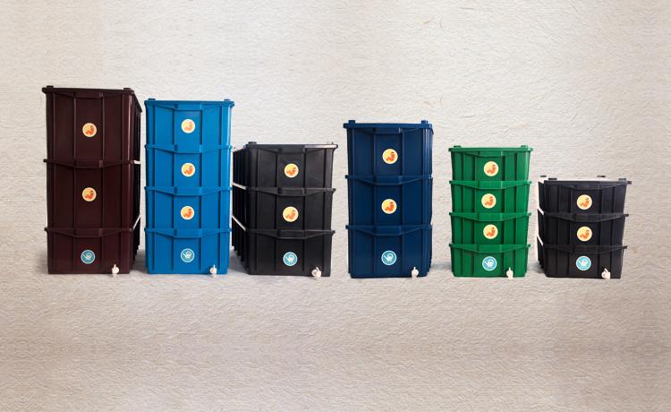 Composteira vermicompostagem são mais rápidas e contam com a ajuda de minhocas para fazer a compostagem