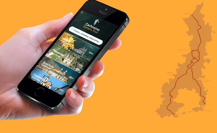 Aplicativo gratuito que mapeia 180 cachoeiras mineiras já está disponível