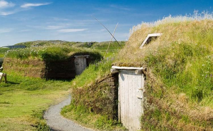 """Vikings já faziam casas com """"telhado verde"""""""