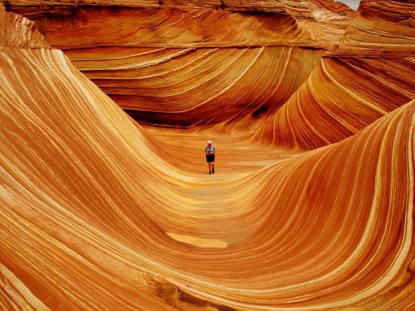 """""""A onda"""", Arizona, Estados Unidos"""