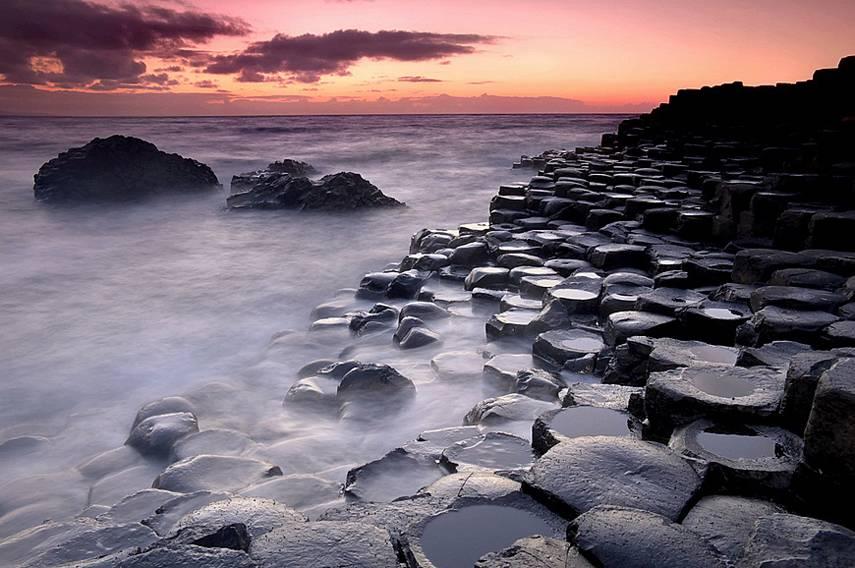 Giant's Causeway, Antrim, Irlanda do Norte, Reino Unido
