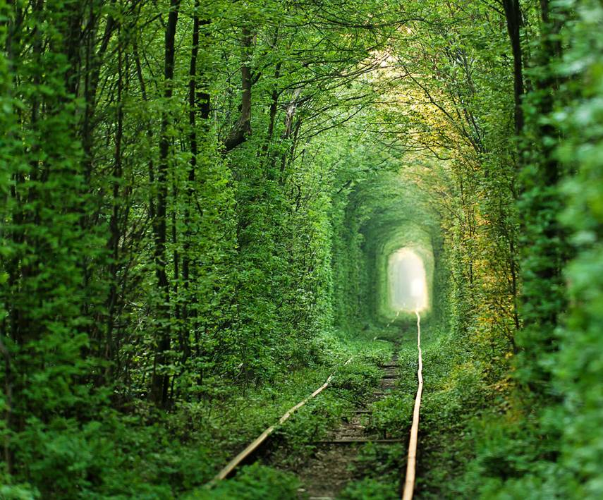 Túnel do amor, Klevan, Ucrânia