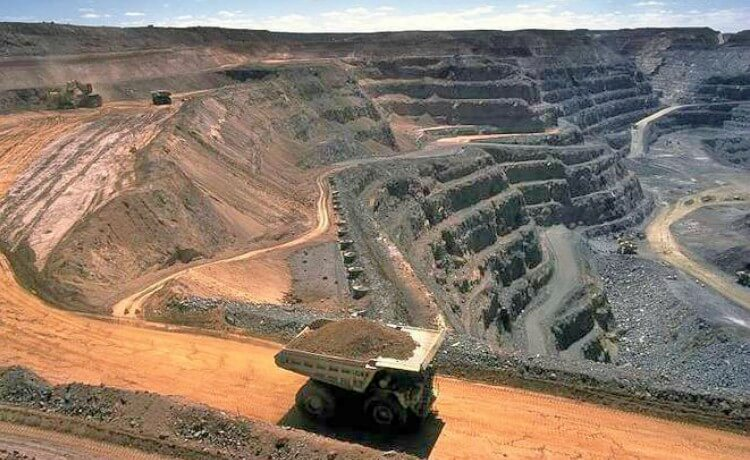 Mineiração de carvão