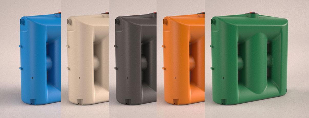 Cisternas cores