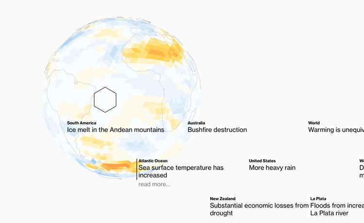 """""""Jogo"""" online mostra os efeitos do aquecimento global no planeta"""