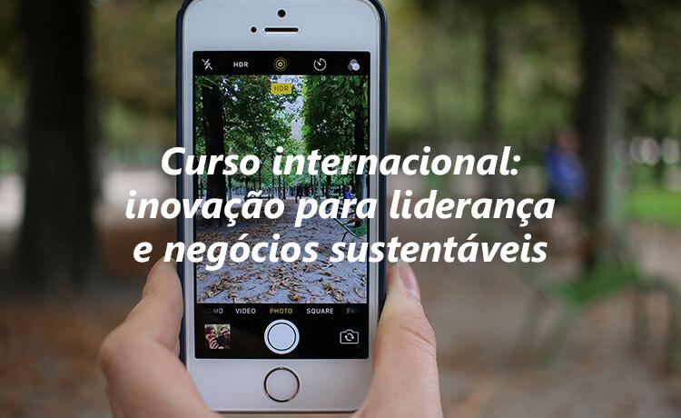 Curso internacional: inovação para liderança e negócios sustentáveis