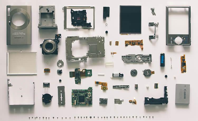 Câmeras digitais antigas